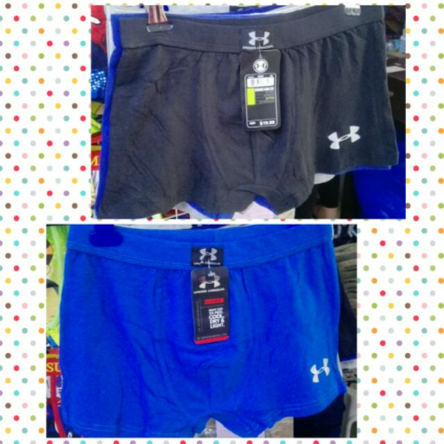 Malgastar italiano Sofocante  UNDER ARMOUR BOXER BRIEF | Shopee Philippines