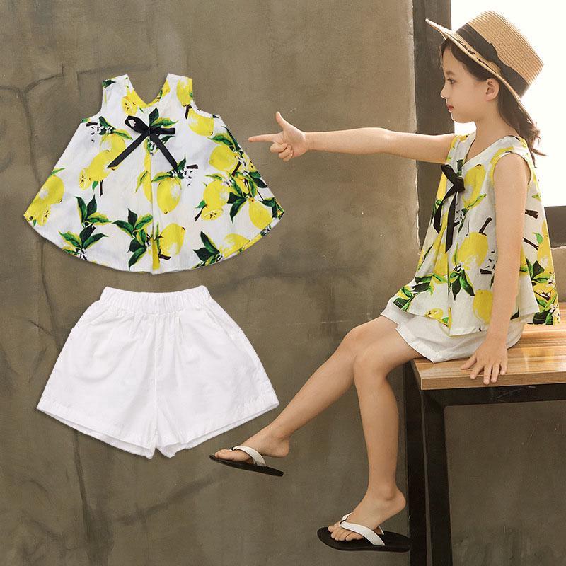 b8357150d53bc Toddler Girls Dress Long Sleeve Fake Two-piece Flower Print Girls ...