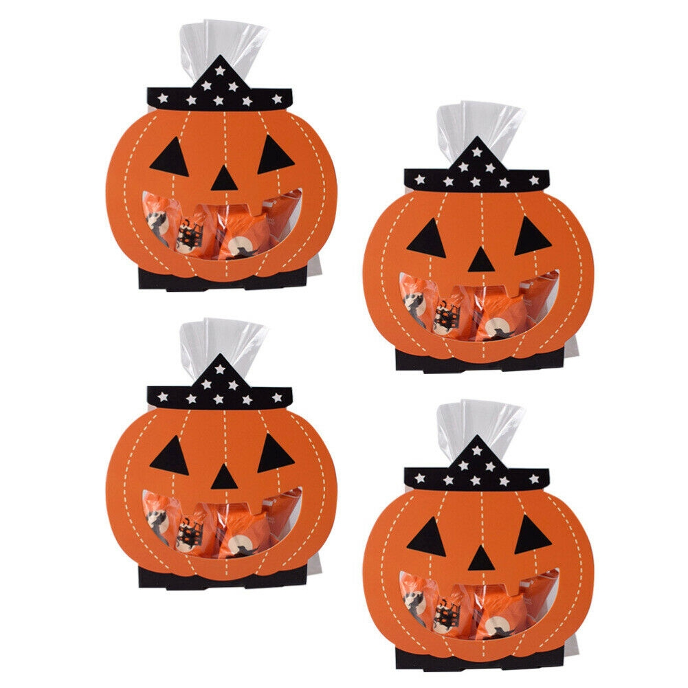 Table Decoration Biscuits Cookie Storage Halloween Pumpkin Ghost Shape Chocolate Festival Candy Box