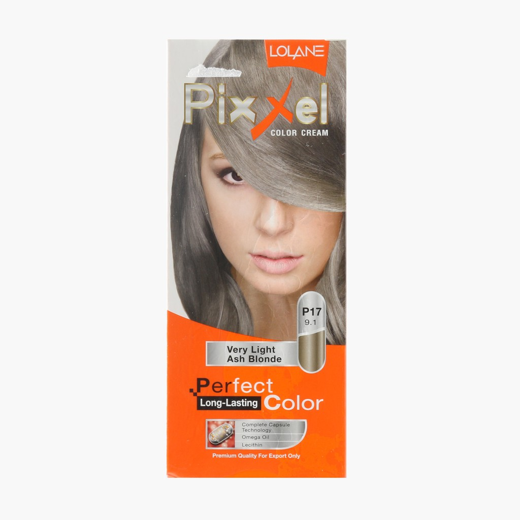 Lolane Pixxel Very Light Ash Blonde Hair Color Cream | Shopee ...