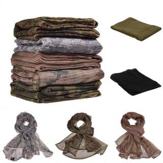 Military Outdoor Disguise Scarf Veil Scrim Net Mesh