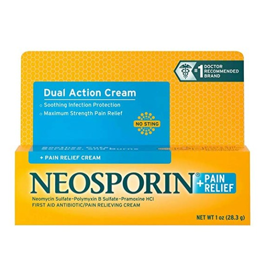 Neosporin+Pain Relief Dual Action Cream 1 oz.
