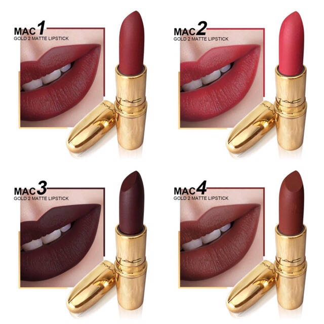 New MAC Gold Matte Lipstick