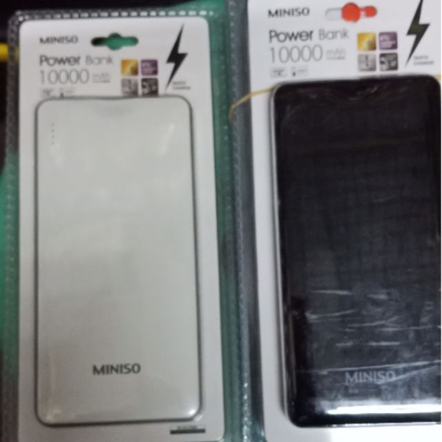 Miniso Powerbank Powerbanks Chargers Prices And Online Deals