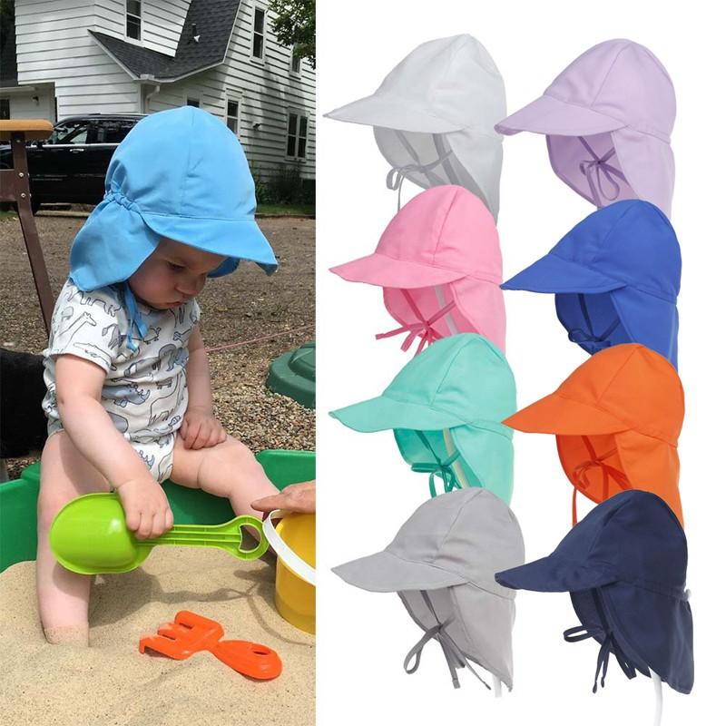 Baby Girl Toddler Soft Cotton Summer Sun Hat Cap Bonnet Outdoor Size 0-8 years