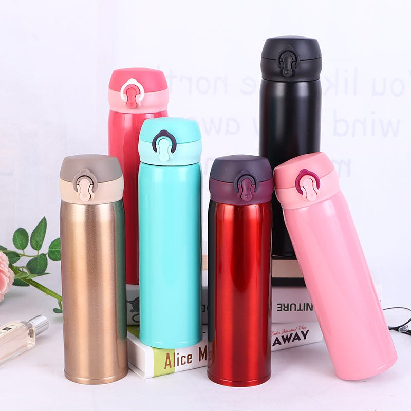 Stainless Steel Mug Thermos Vacuum Insulated Travel Tumbler Coffee Mug Cup New