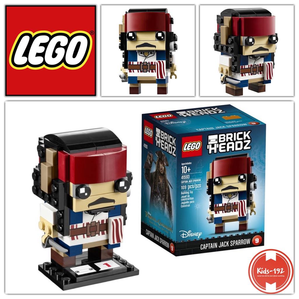 Brickheadz Lego Captain Sparrow Jack 41593 Kit Building SzqMpVU