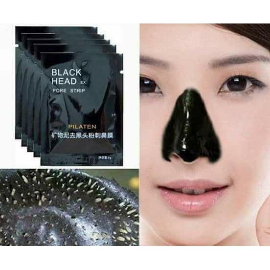 🔴COD <P3 50 ONLY> PILATEN blackheads remover pore strips