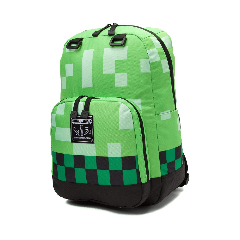 02303066dd MINECRAFT GREEN CREEPER BACKPACK SRP of 39.90USD