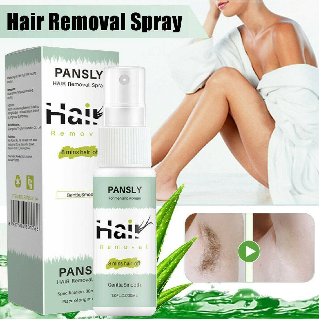 2020 New Pansly Hair Removal Cream Spray Body Private Parts