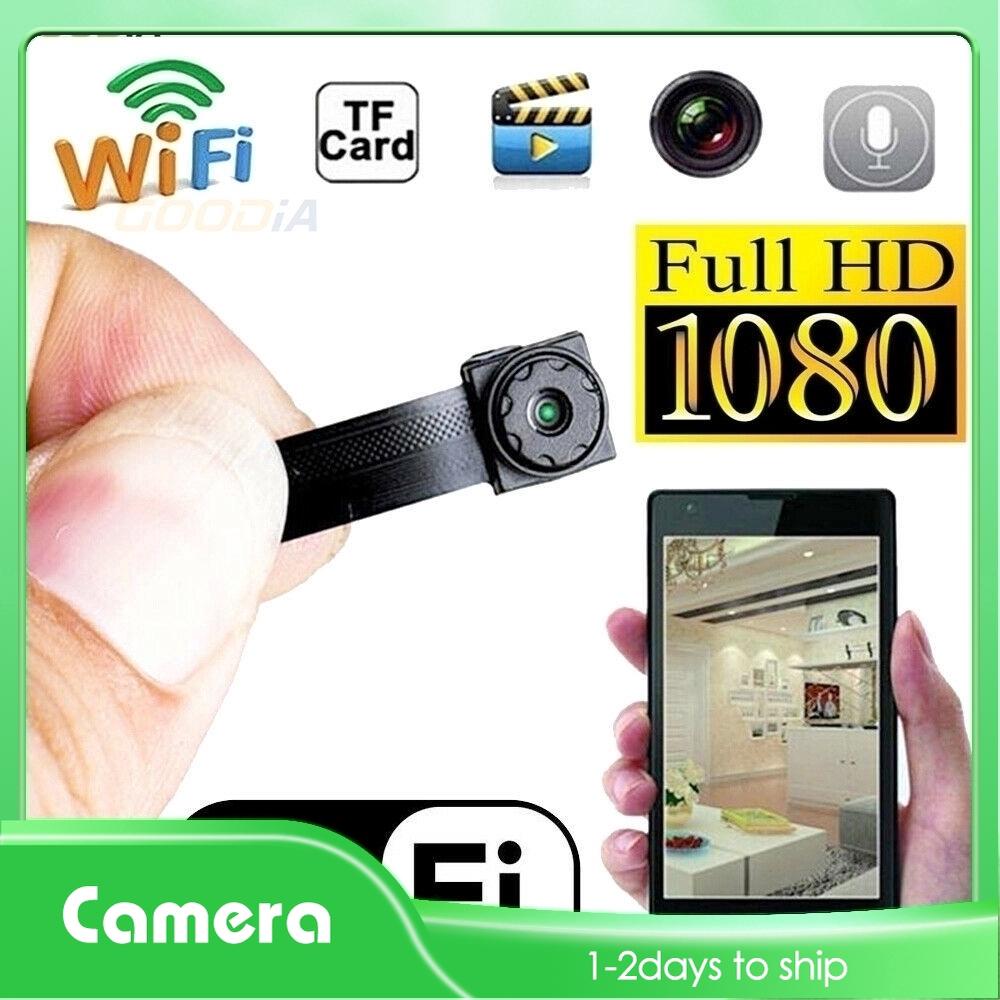 In Stock Cod 1080p Wifi Wireless Hidden Spy Camera Hd Mini Micro Dvr Security Cam Recording Shopee Philippines