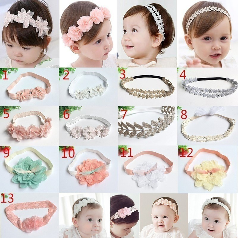 Girls Baby Toddler Headband Top Knot Fabric Hair Bow Band Turban Accessory G Innovatis Suisse Ch