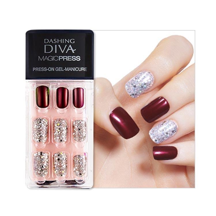Dashing Diva] Magic Press Premium Artificial Nails | Shopee Philippines
