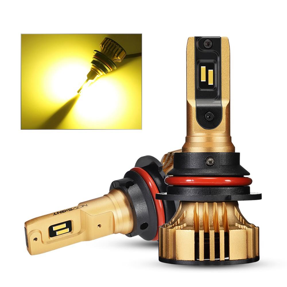 9005//9006//H1//H4//H7//H11//H13 60W 6000LM LED Headlight Kit 6000K White COS Bulbs
