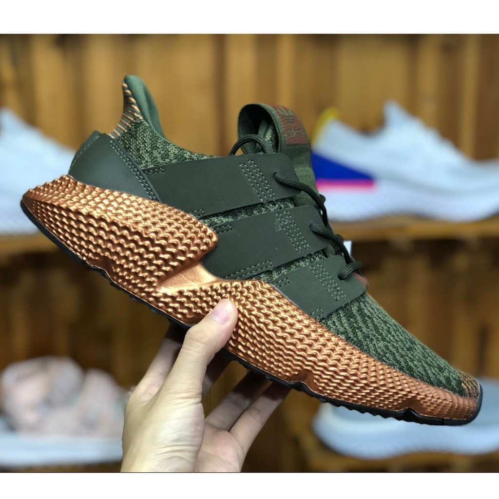 authorized site big discount size 7 Adidas Prophere Running Shoes For Men Army Green Sneakers Inspired ...