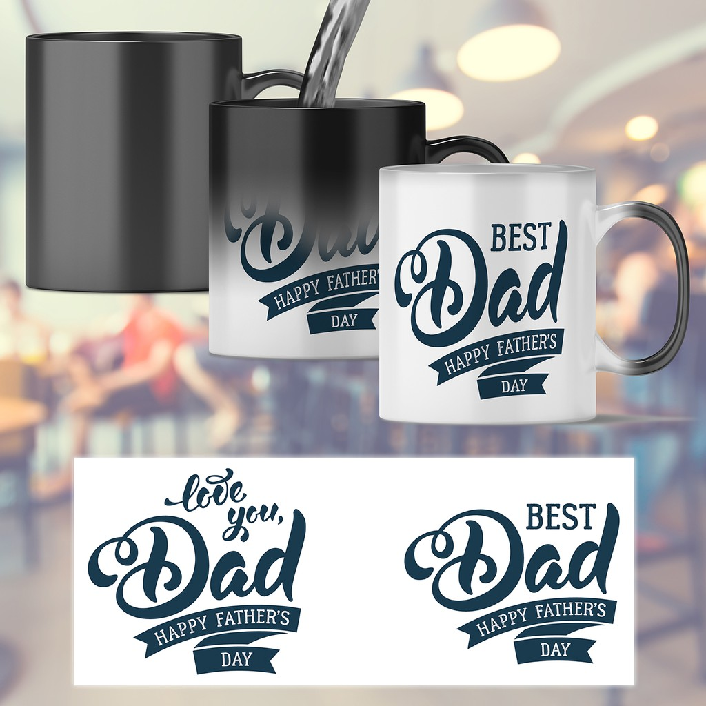 Father S Day Mug Magic Mug Or Color Changing Coffee Mug Shopee Philippines