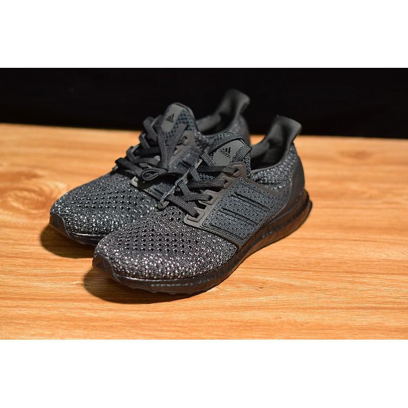 Adidas Ultra Boost 4.0 Clima LTD All Black Black Soul CQ002