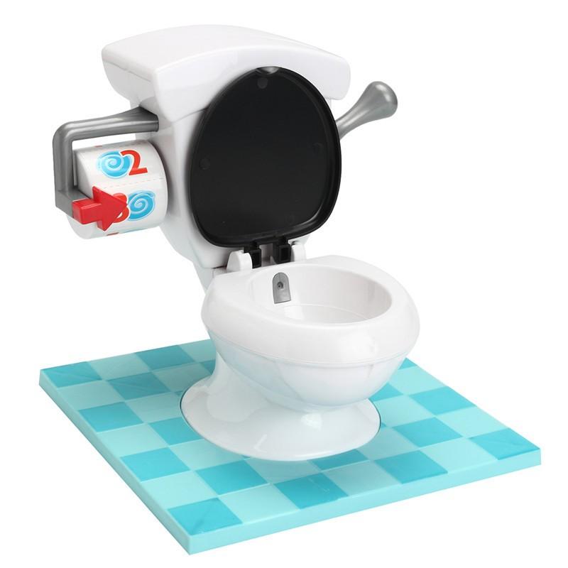 OZ Toilet Trouble Hilarious Board Game Flush Sound Effects Kids Children  Fun Toy