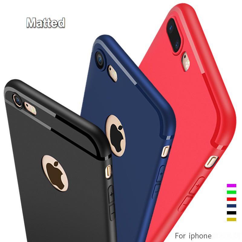 wholesale dealer 1b29f 36bd4 3Color Matted iPhone 5 5S 6 6S 7 8 Plus X XR XS Max Soft Case AIM