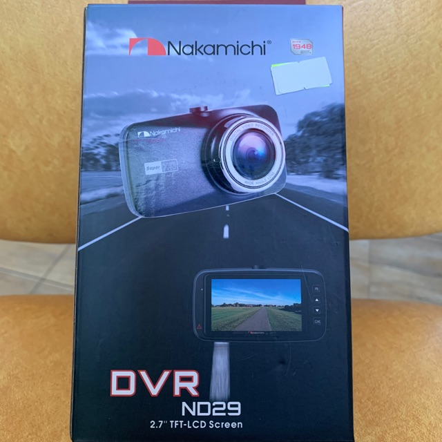 Nakamichi ND29 HD1080P 2.7 Screen Car Camera Dash Cam