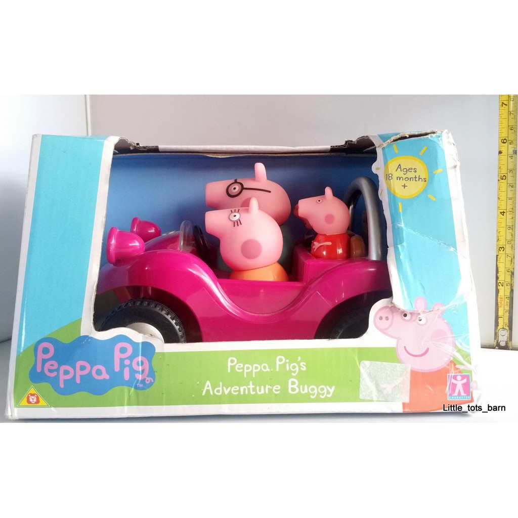 LTB: PEPPA PIG PUSH & SOUNDS ADVENTURE BUGGY TOY CAR
