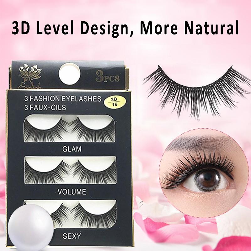 6af6ff1f241 Mink Lashes 3D Mink False Eyelashes - Lauren | Shopee Philippines