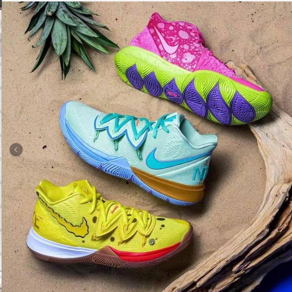 Spongebob kyrie shoes