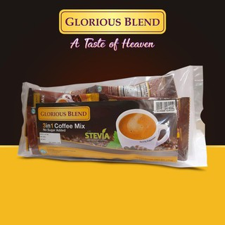 Glorious Blend 3 in 1 Coffee Mix with Stevia extract power ...