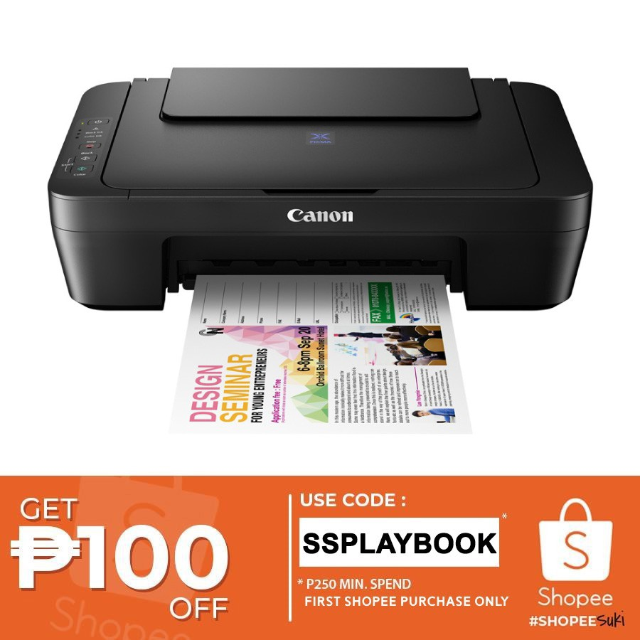 Canon Pixma E410 Compact All in One for Low-Cost Printing