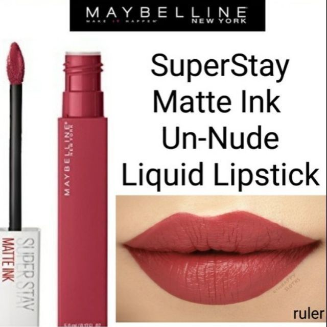 Maybelline Creamy Matte Lipstick Nude Nuance Shopee Philippines