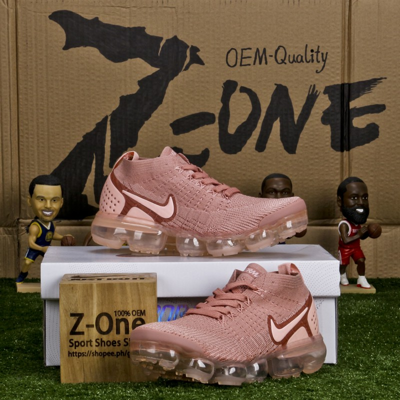 43d37ac02044e NIKE REACT FLYKNIT for women running shoes Pink