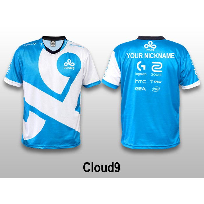Cloud 9 Dota 2 Esports Jersey