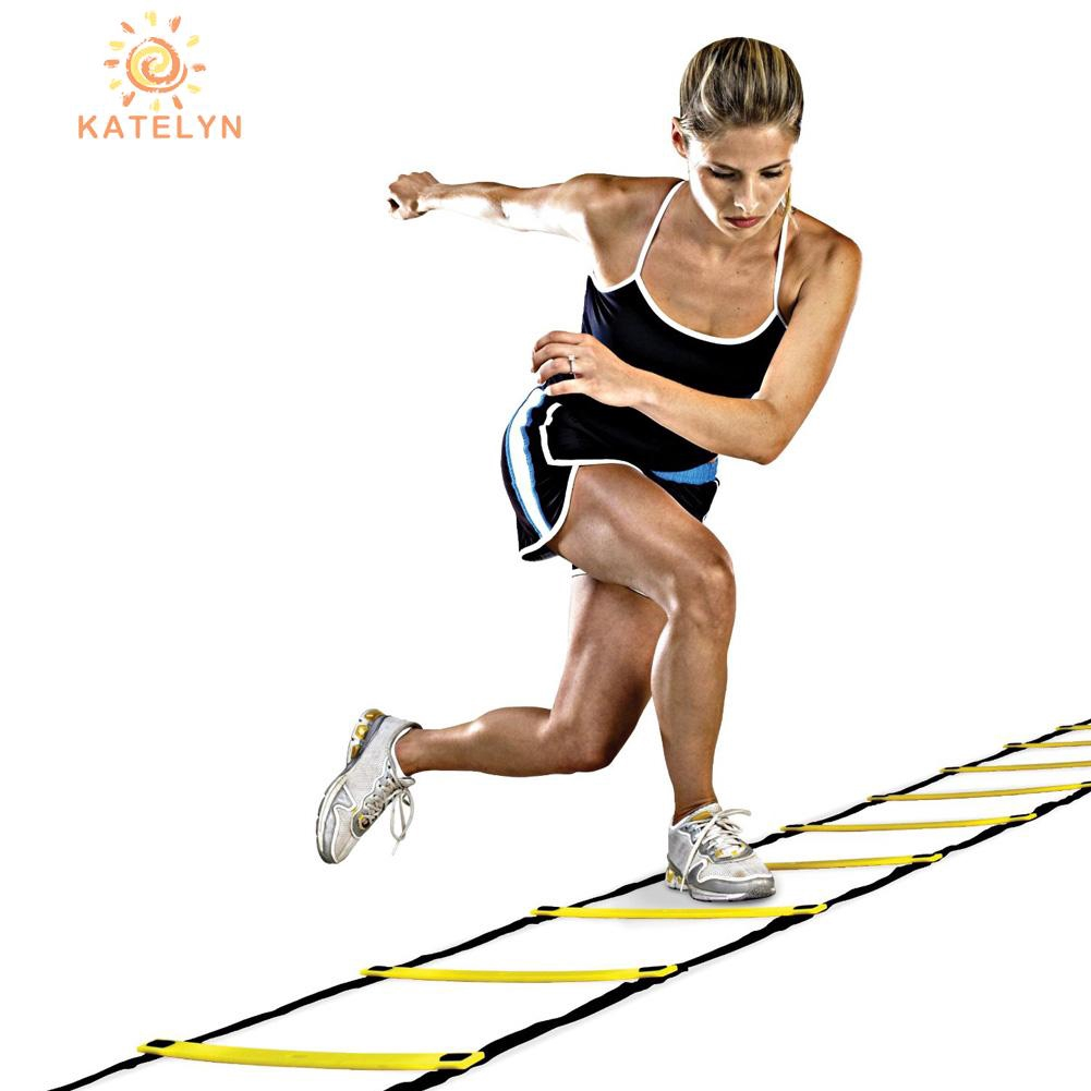 Durable 10 Rung 15 Feet 5M Agility Ladder for Soccer Speed Training  //KT