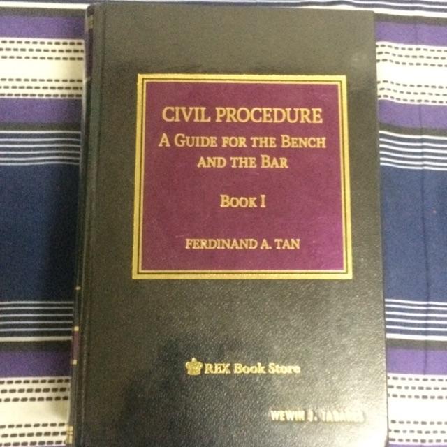 Civil Procedure Book 1 by Dean Tan