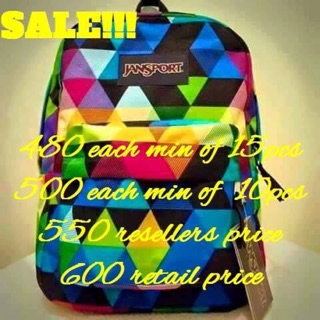 9dcf2a74d01 SPECIAL PRINT JANSPORT BAG   Shopee Philippines