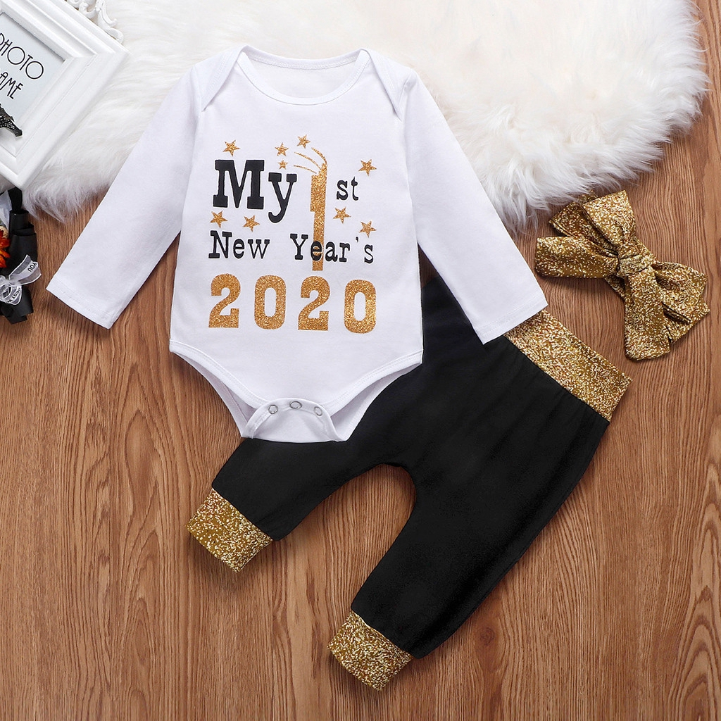 Baby Girl Boy Clothes,Newborn Infant Baby Girl Letter Romper Bodysuit Floral Long Pants Outfits Set