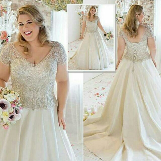 Wedding Dress Plus Size.Plus Size Wedding Gown