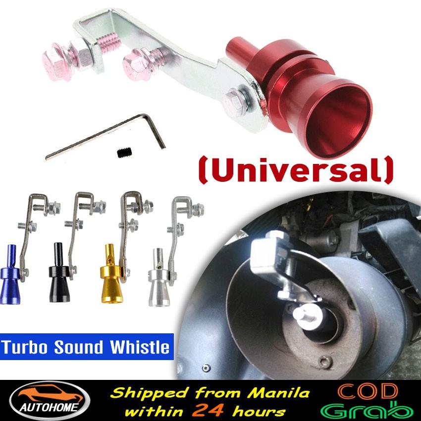 Universal Car Turbo Sound Whistle Pipe Sound Muffler Exhaust Turbine