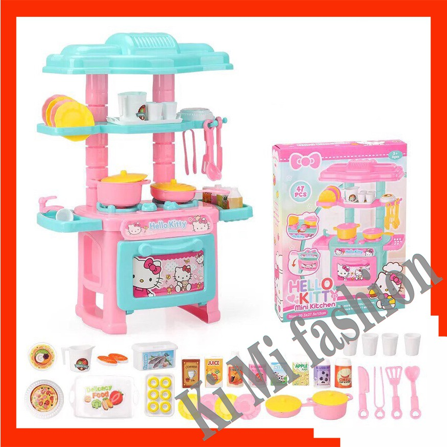 Kim Cod Mini Kitchen Set Toy Kid Play