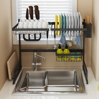 Admirable Dish Rack Sink Draining Shelf Kitchen Shelves Kitchenware Dishes Storage Rack Download Free Architecture Designs Scobabritishbridgeorg