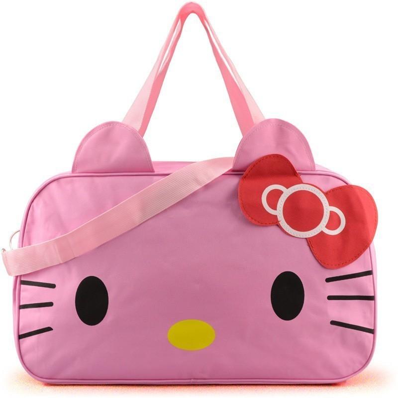 2f3f6039d Cute Hello Kitty Handbag Girl's Women's Travel Messenger Bags ...