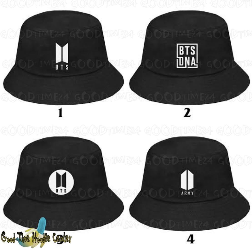 Bts Bucket Hat Logo Army Dna Bts Shopee Philippines