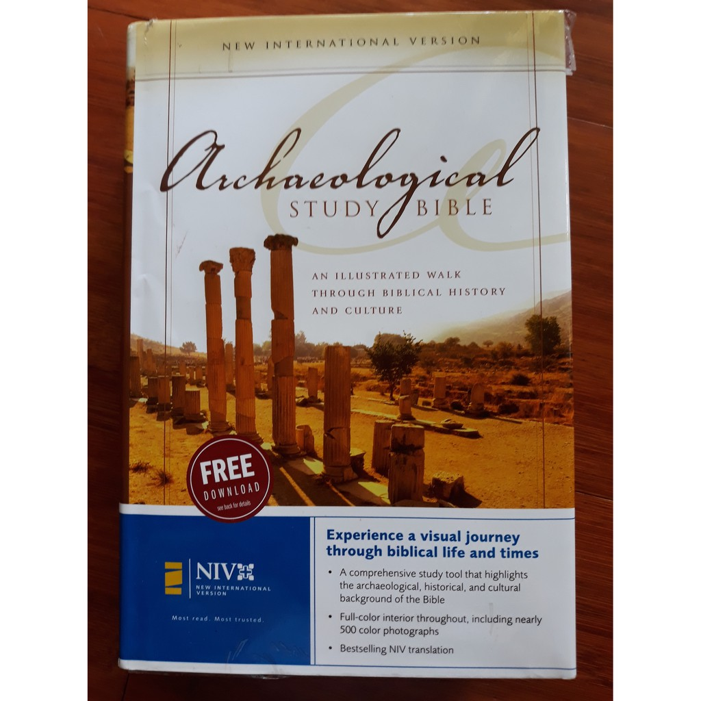 Zondervan Archaeological Study bible, NIV version