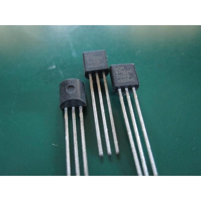 5PCS MCP9700A-E//TO 9700 Low-Power Linear Active Thermistor Sensor Microchip