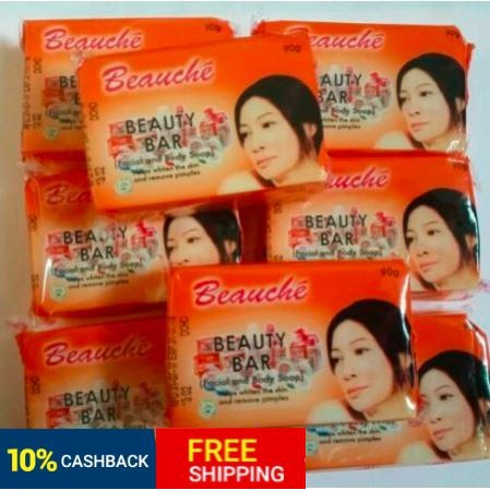 Beauche Beauty Bar 90g wholesale  (with Beauche logo on actual soap)