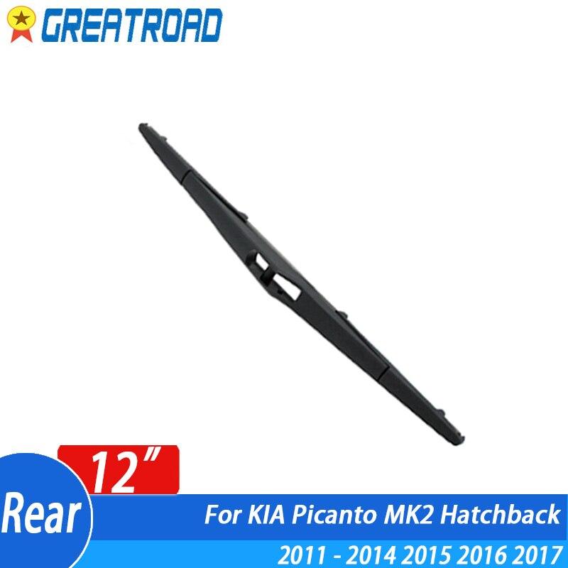 Wiper 12 Rear Wiper Blade For KIA Picanto MK2 Hatchback 2011-2014 2015 2016 2017 Windshield Windscreen Rear Window