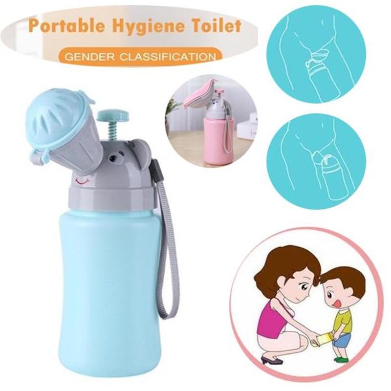 Kid Portable Urinal Toilet Potty Training Baby Boy Girl Cars Travel Supply 500ML