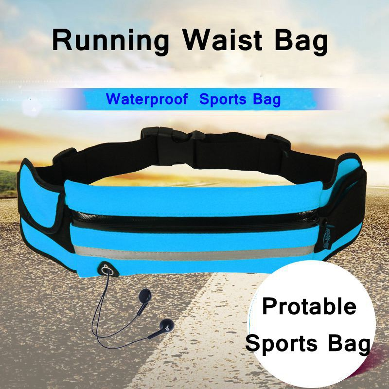 a1944a3f31ce Running Waist Bag Waterproof Phone Holder Jogging Bag AIM