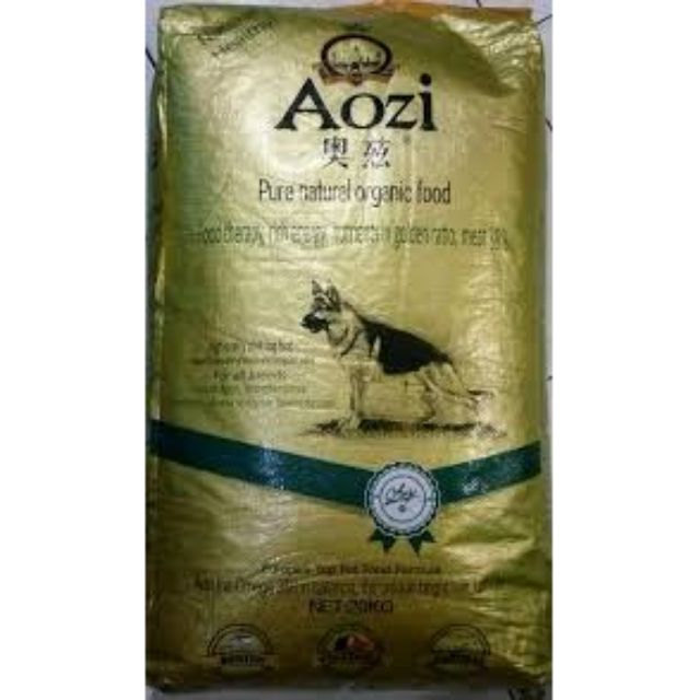 AOZI pure natural organic dog food ADULT (repacked)