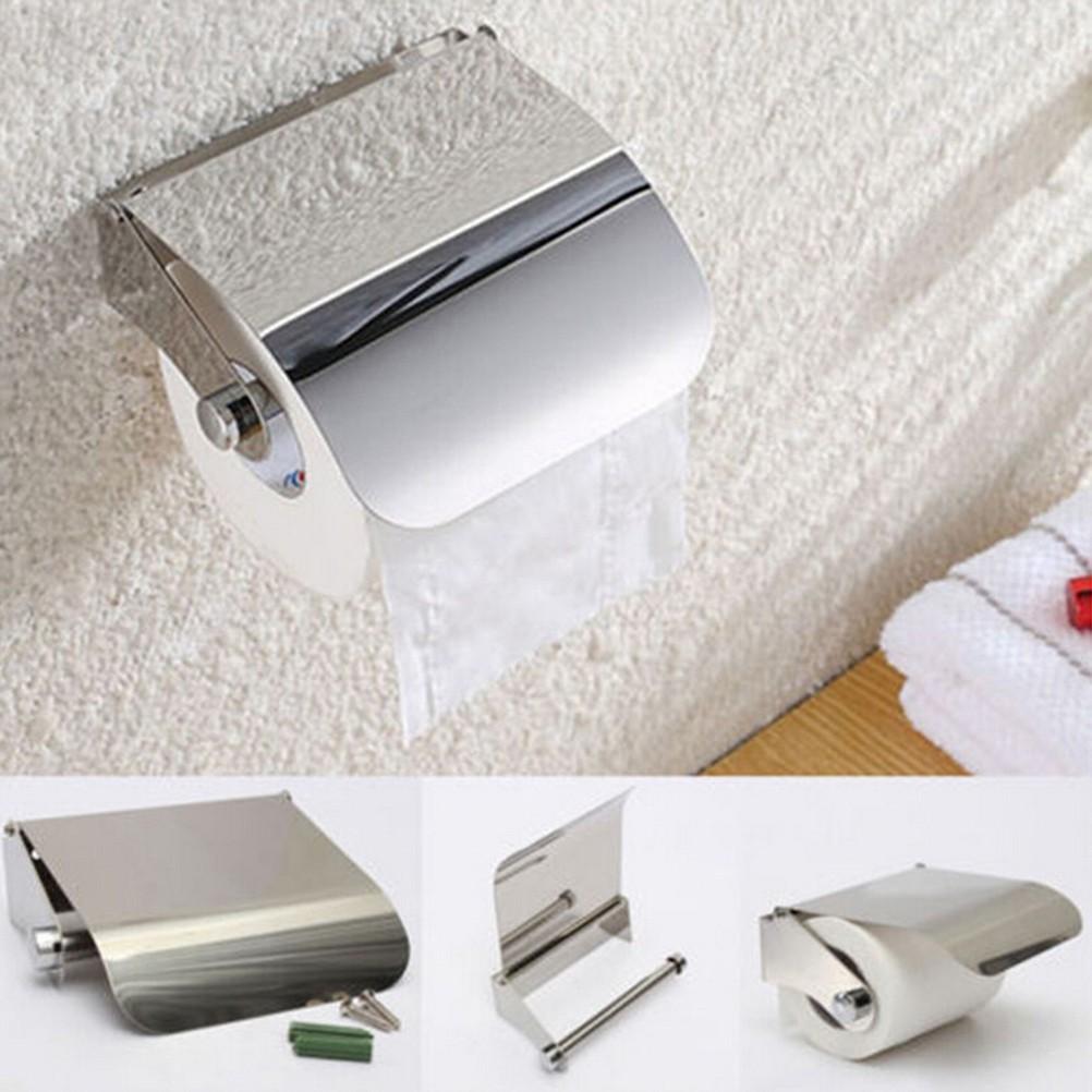 Motivated 2pcs Paper Towel Holder Dispenser Under Cabinet Paper Roll Holder Rack Without Drilling For Kitchen Bathroom Bathroom Fixtures
